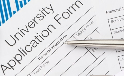 University admission application