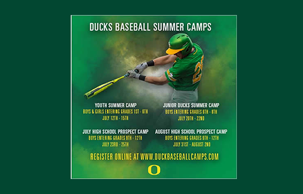 logo for Oregon Baseball Camps